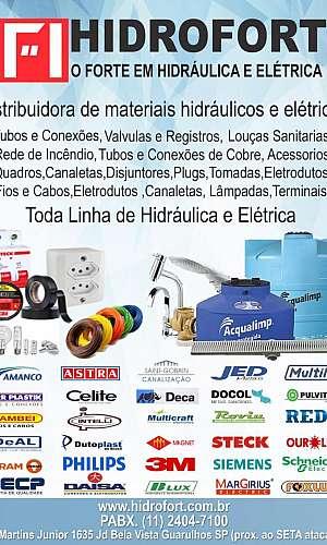 Distribuidora de material hidráulico e elétrico