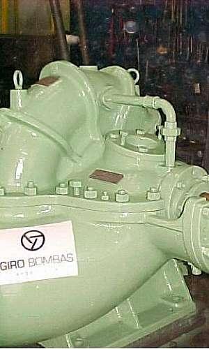 Empresa de manutenção de bombas
