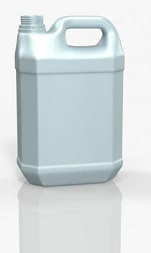 Galão de gasolina plástico