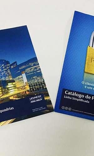 Impressão de catálogos