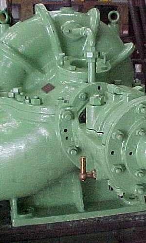 Manutenção de bombas para usinas