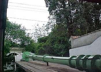 Manutenção de bombas verticais