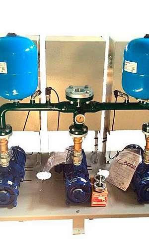Pressurizador de água industrial