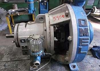 Serviço de manutenção de bombas químicas